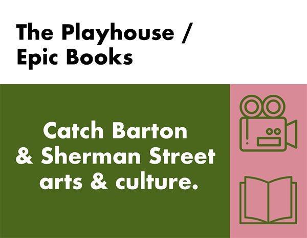 The Playhouse / Epic Books silent auction package